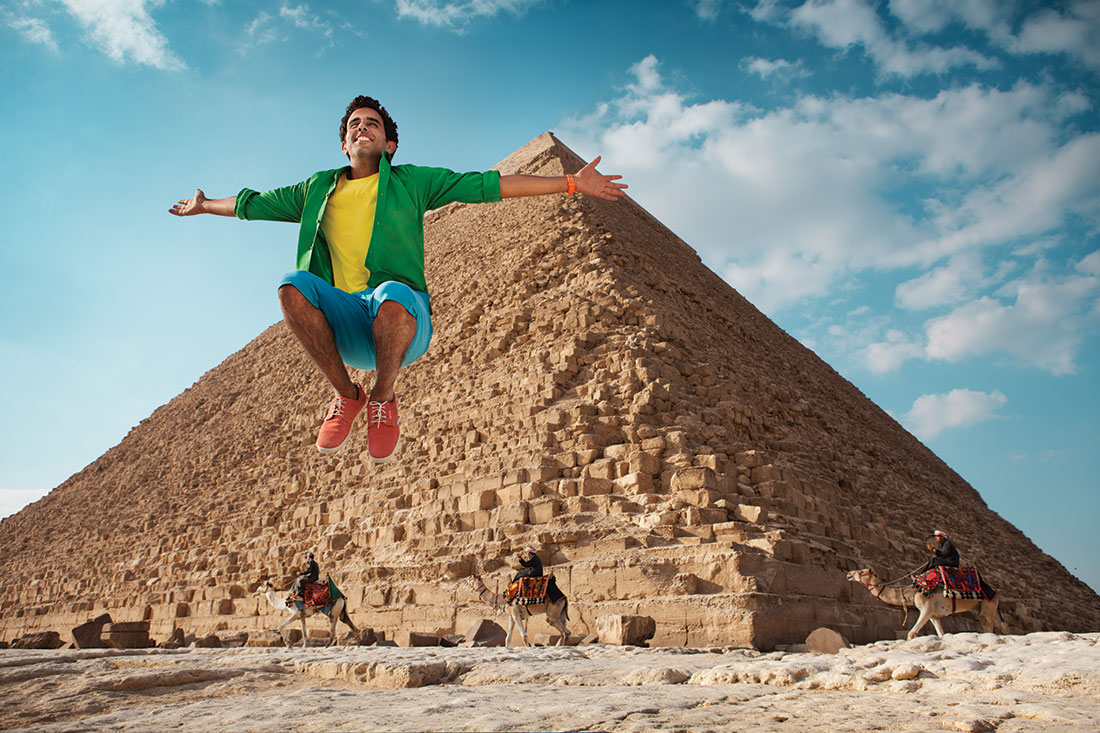 Egiat, piramide