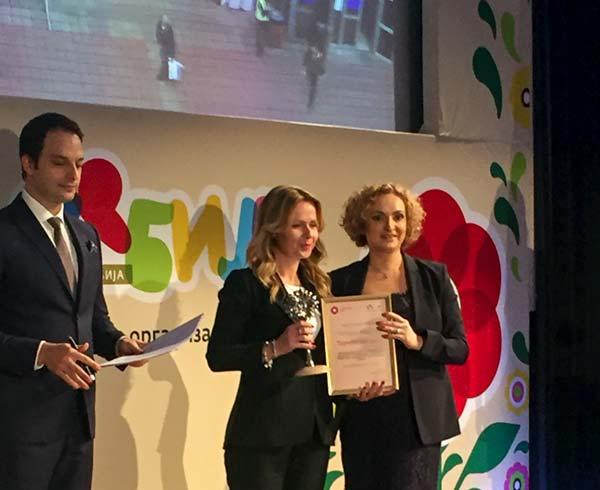 Danka Selić, generalna direktorka Beogradskog sajma i Marija Labus, direktor Turističke organizacije Srbije