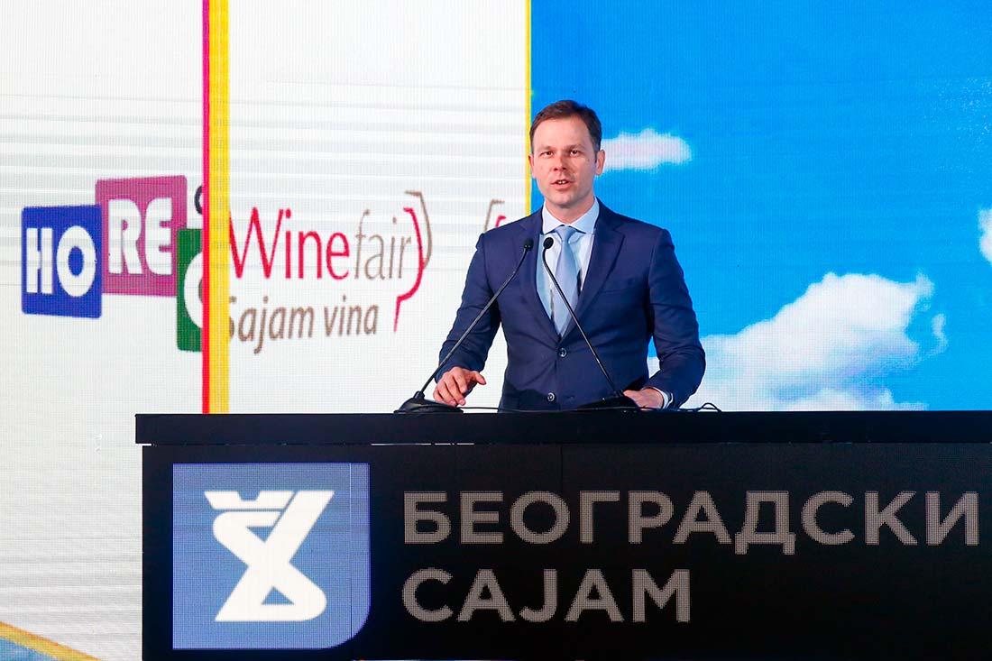 The Mayor Siniša Mali