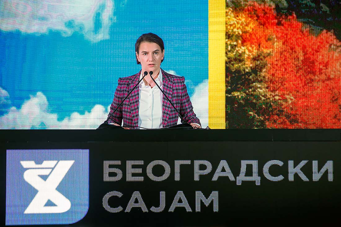 Ms. Ana Brnabić, Prime Minister of the Republic of Serbia