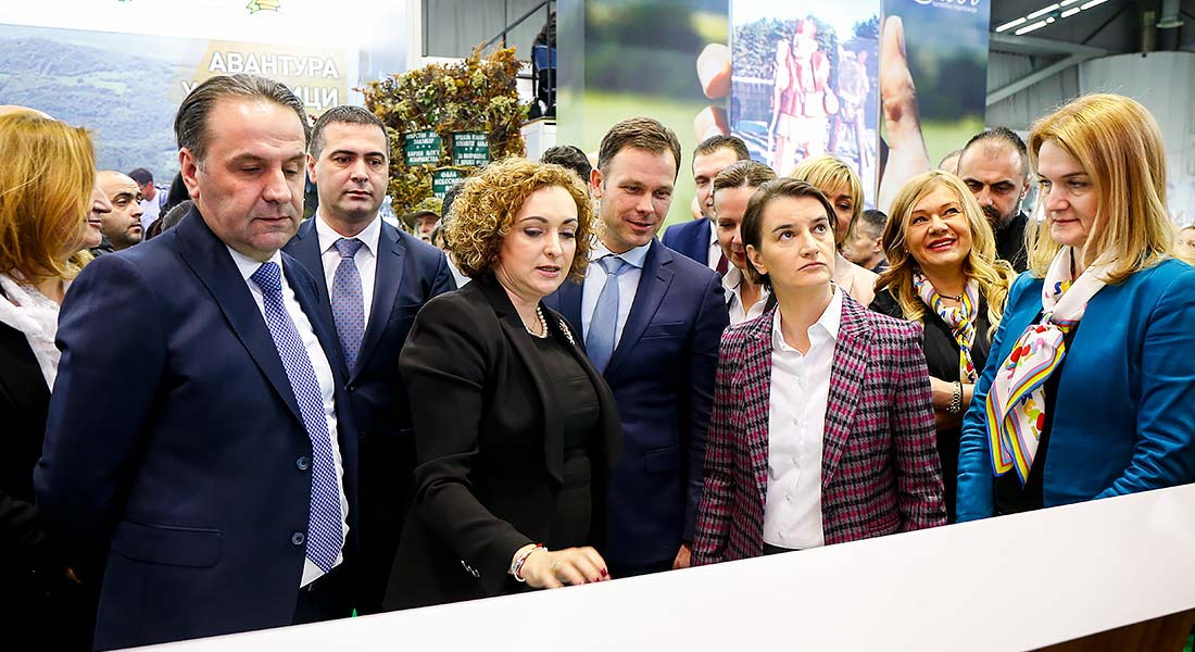 Opening of the Fairs of Tourism, Wine, Hotel & Catering Equipment and Souvenirs