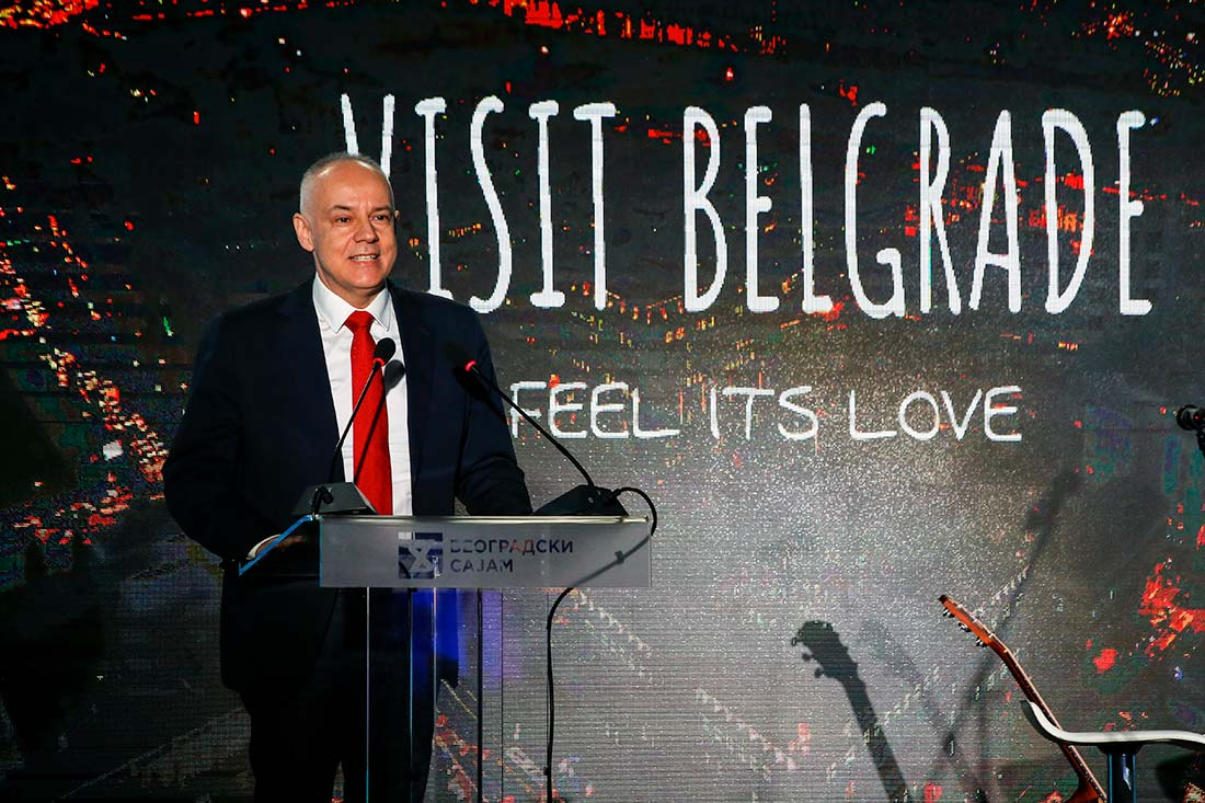 Prof. dr Zoran Radojičić, gradonačelnik Beograda