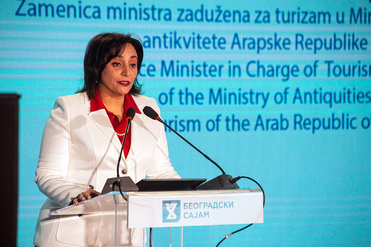 Gada Šalabi, zamenica ministra zadužena za turizam u Ministarstvu za turizam i antikvitete AR Egipat